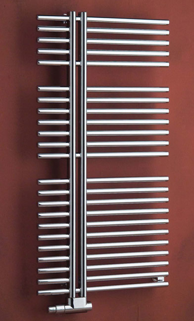 Helios - aluminium with chrome or stainless steel covarage