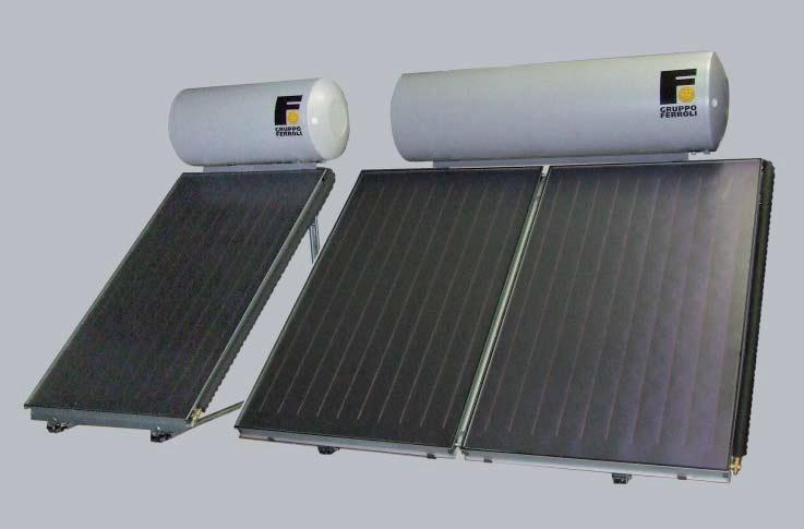 Комплект соларна система ECOTECH 2F