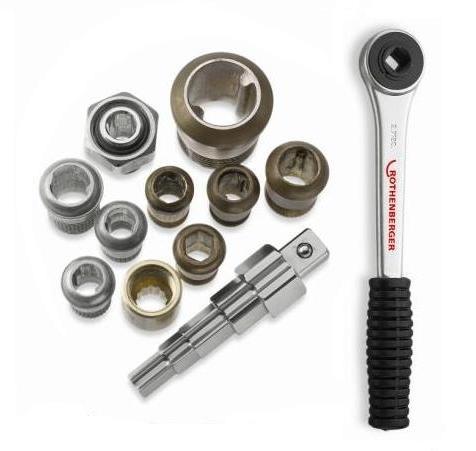 Многостъпален ключ за холендри UNI с тресчотка