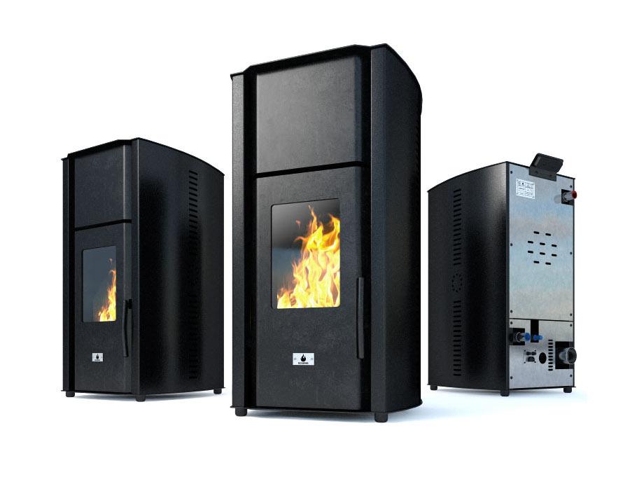 "Hydro pellet stove ""ECOSPAR"" AURIGA 23"