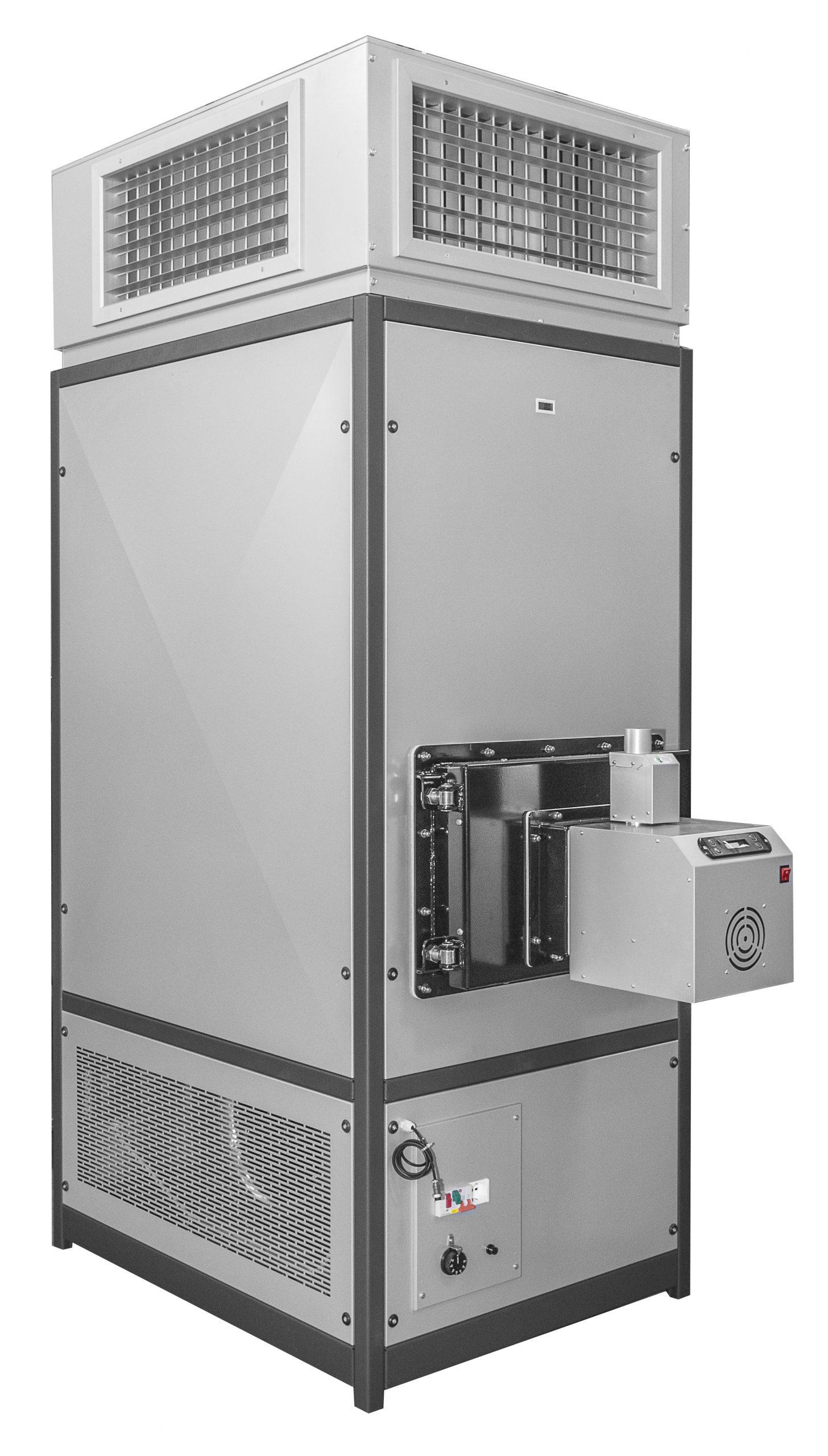 B-max генератор на топъл въздух на пелети