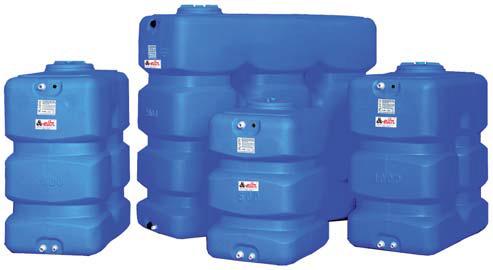 CP,CPN - Prismatical potable water tanks (500 - 2.000 litres)