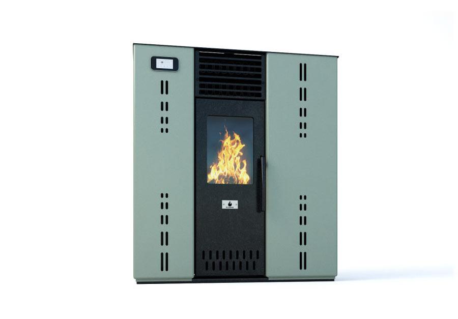 "Pellet stove ""GEMINI""  8 KW"