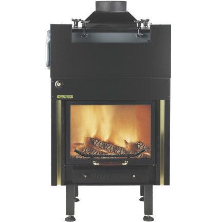 Boiler Fireplace KLOVER serie 2000 for central heating and DHW