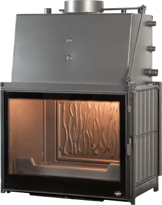"Cast iron water boiler built-in foyer "" MULTIVISION 8000 THERMO"""