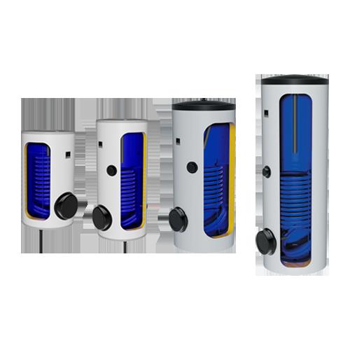 """Floor standing vertical 1-coil combi water heater """"DRAZICE"""" - OKC NTR/BP"""