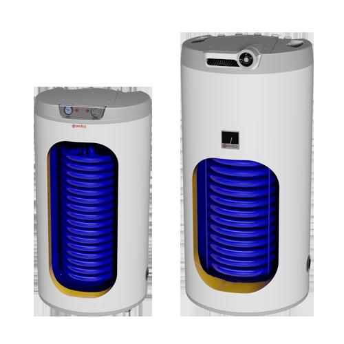 "Floor standing vertical 1 coil combi water heater ""DRAZICE"" OKC NTR/HV"