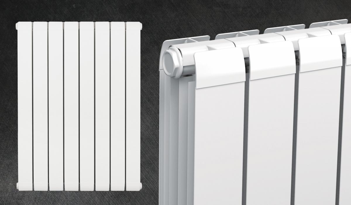 Aluminium radiator RUBINO