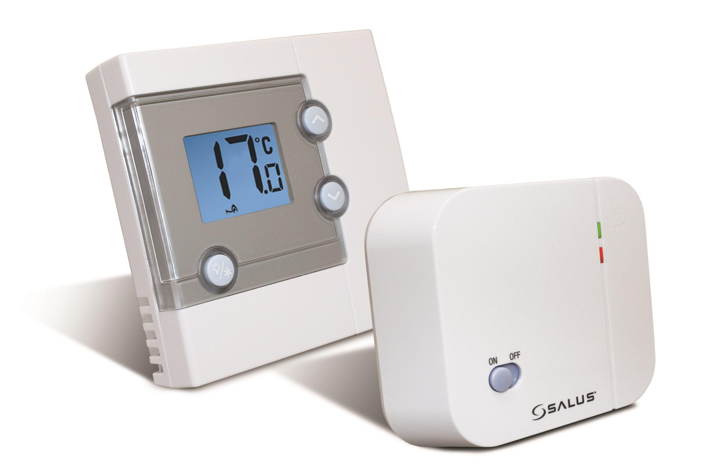 Дневен стаен безжичен термостат SALUS RT300RF