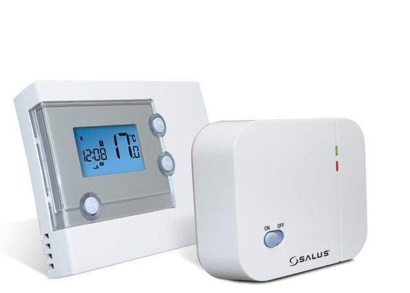 Седмичен стаен безжичен термостат RT500RF