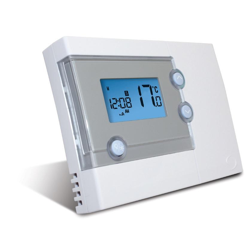 Седмичен стаен жичен термостат SALUS RT500