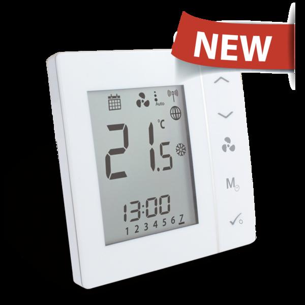 Стаен термостат регулатор за вентилаторен конвектор SALUS FC600