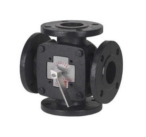 3(4)-way cast iron mixing valve