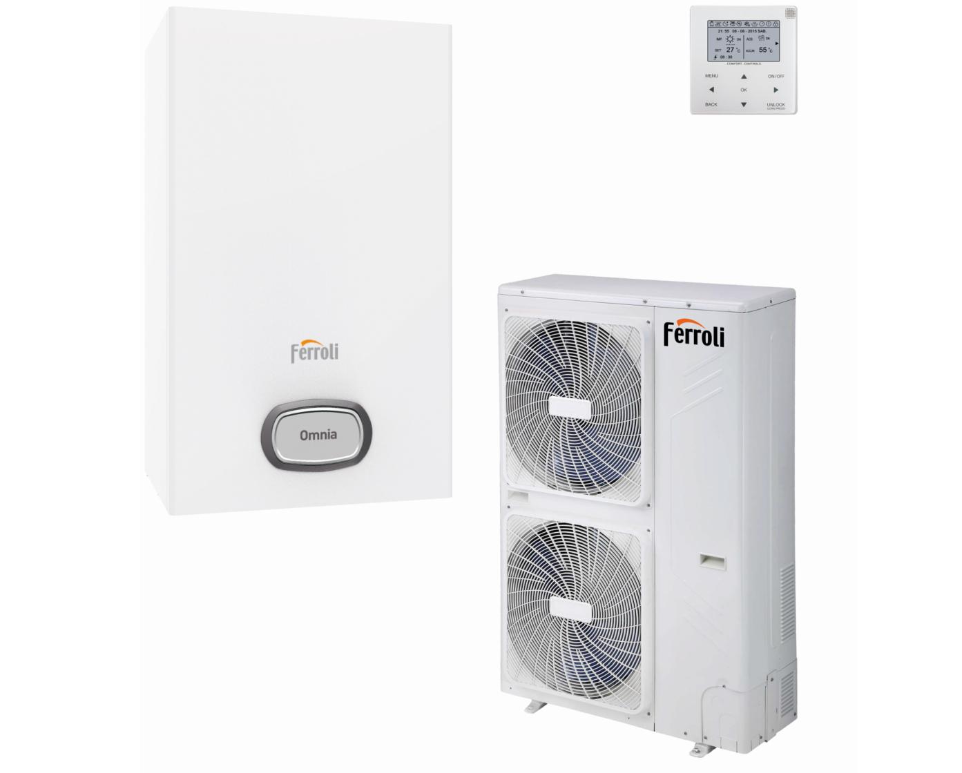 <h2>Икономичните инверторни термопомпи на FERROLI</h2>