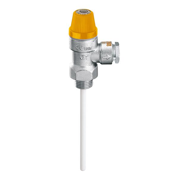 """Temperature and pressure relief valve """"CALEFFI"""""""