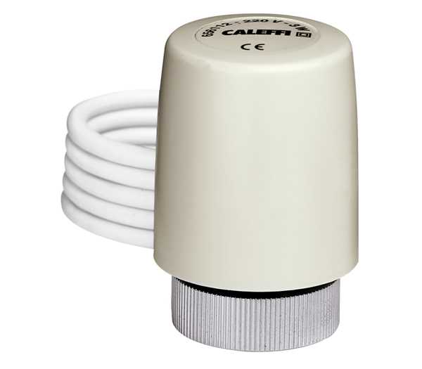 "Thermo-electric actuator ""CALEFFI"" normally closed"